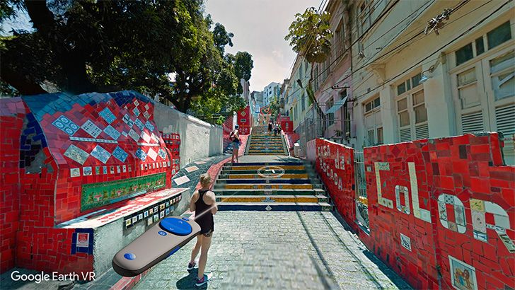street view VR