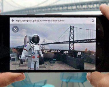 realidad aumentada navegador web google article