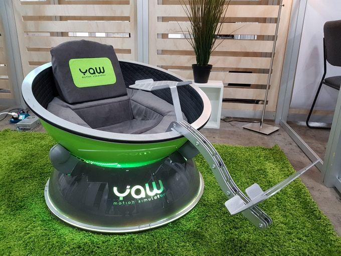 Yaw VR, el simulador de realidad virtual ideal para casa