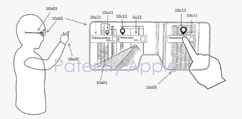 Las gafas de realidad aumentada de Apple siguen su curso