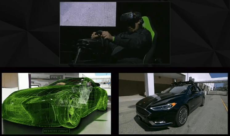 HoloDeck, o cómo conducir un coche a distancia gracias a Nvidia