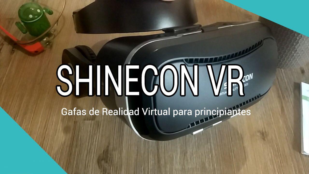 ShineCon VR SC, Gafas de REALIDAD VIRTUAL baratas para principiantes