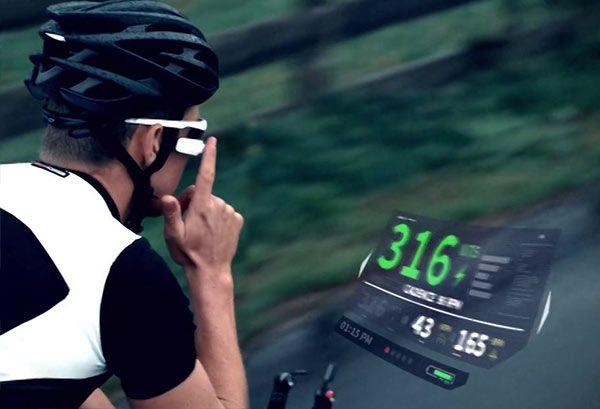 como funcionan las gafas inteligentes deporte