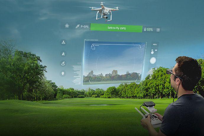 Ahora puedes controlar los Drones DJI con las gafas inteligentes de Epson