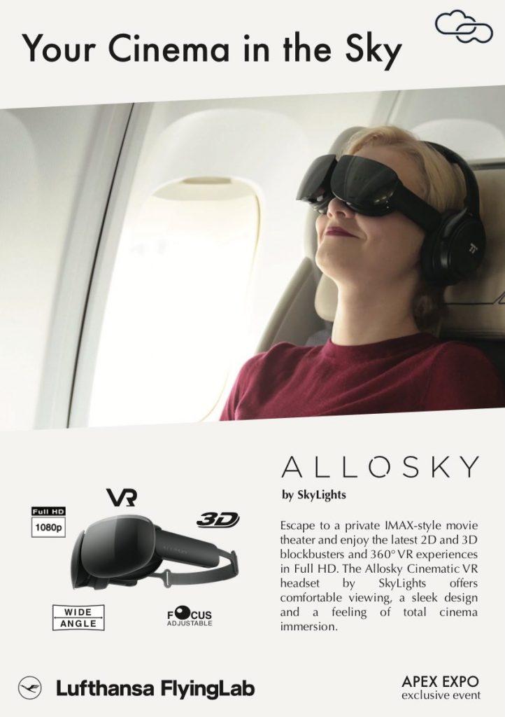 alaska airlines películas de realidad virtual