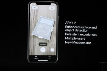 arkit 2 apple