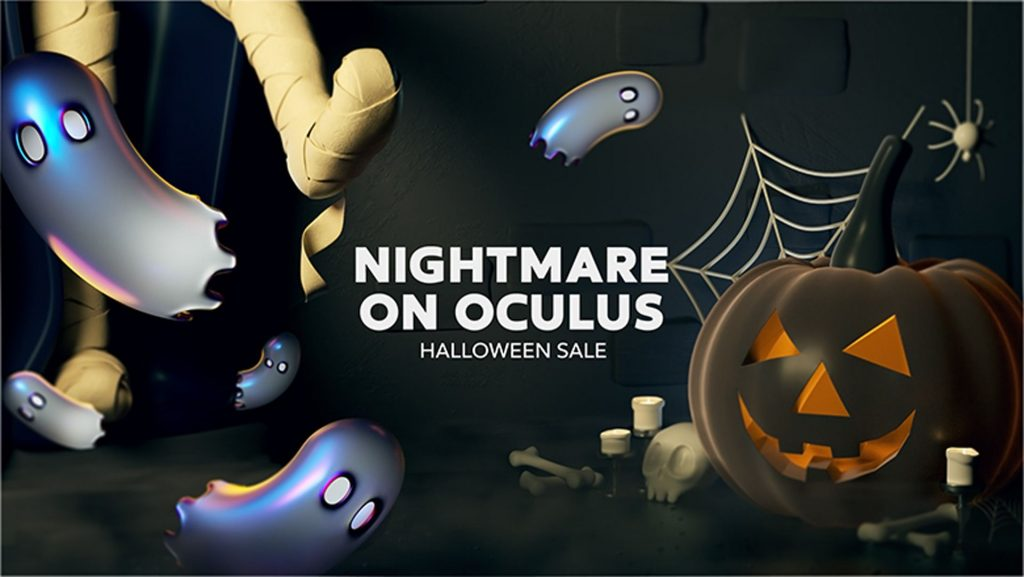 oculus halloween ofertas