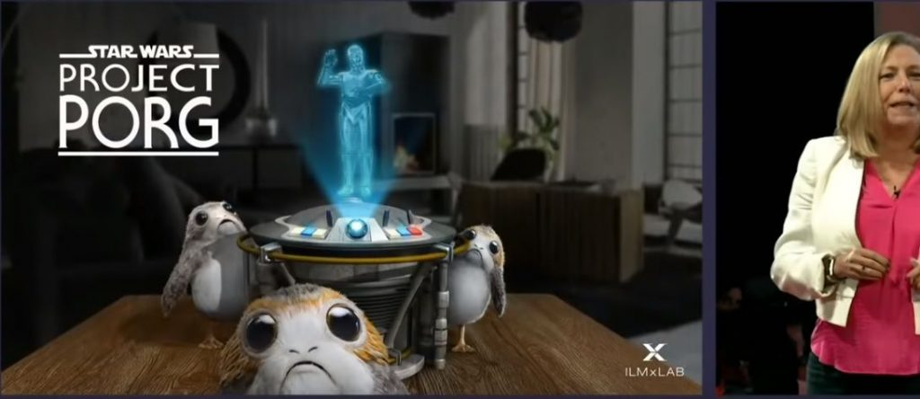 star wars project porg magic leap one