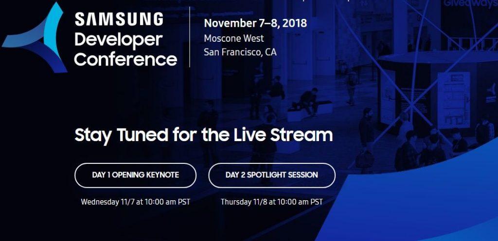 samsung developer conference 18