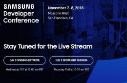 samsung developer conference 18