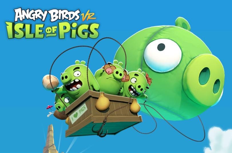 Angry Birds VR llegará en 2019