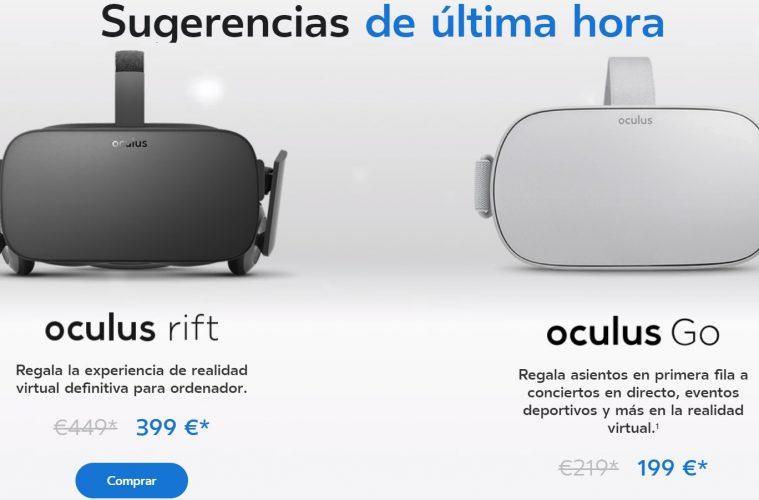 oferta oculus navidad