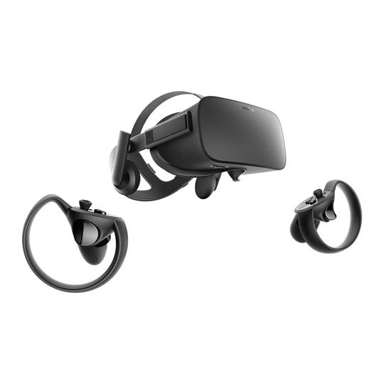 Oculus Rift y controladores touch
