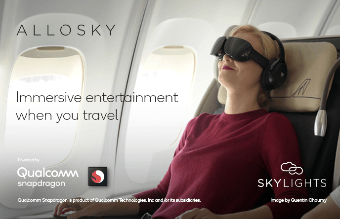 allosky VR gafas qualcomm