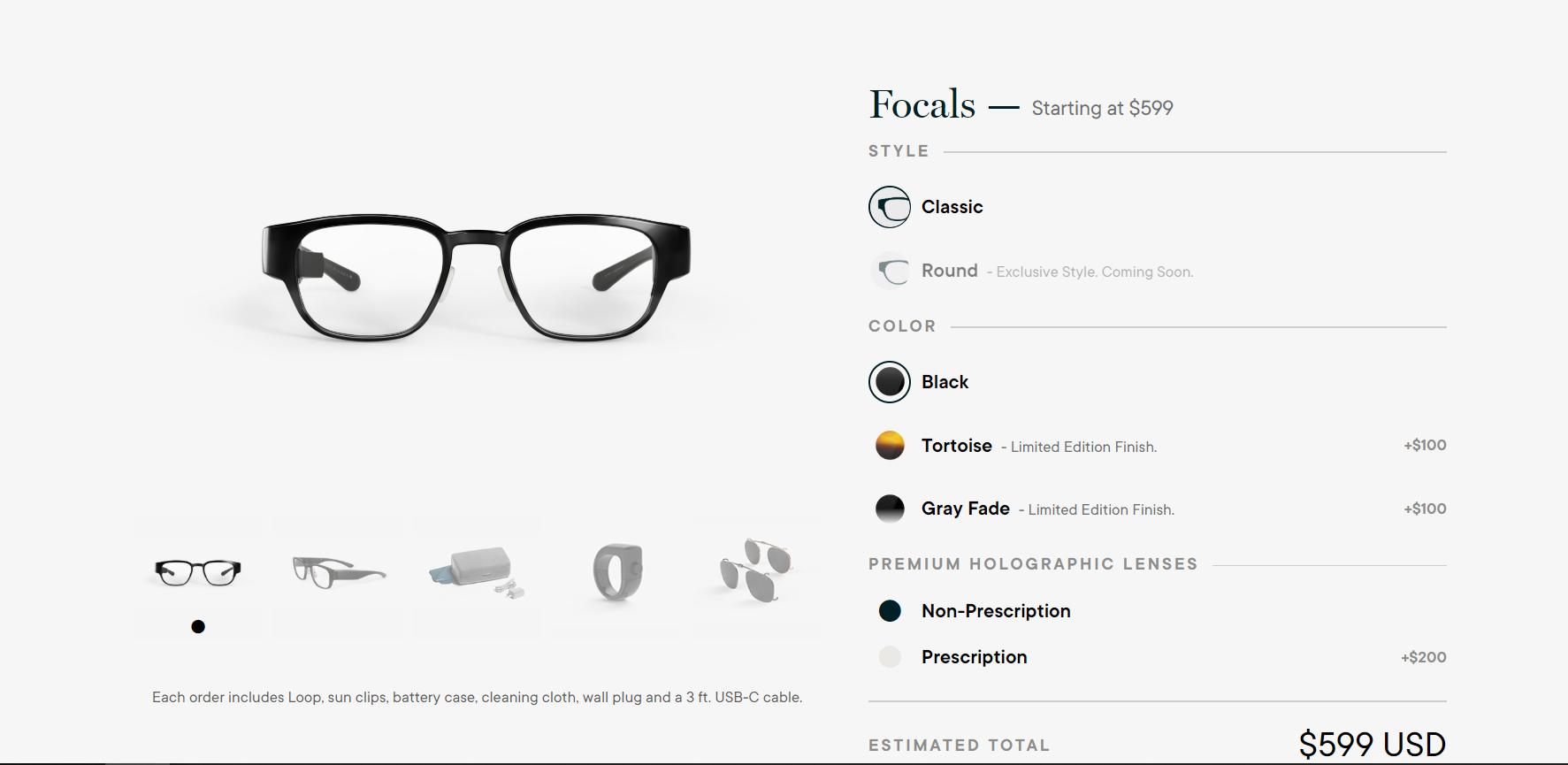 North baja el precio de sus gafas inteligentes Focals