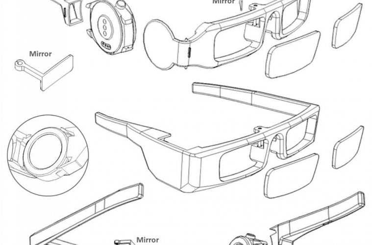 huawei gafas inteligentes patente
