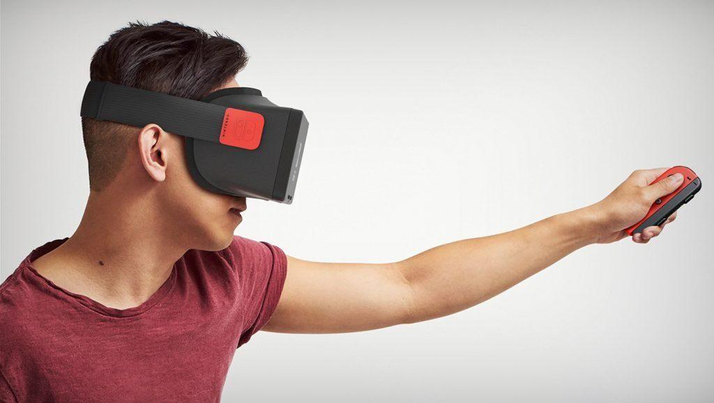 nintendo switch realidad virtual