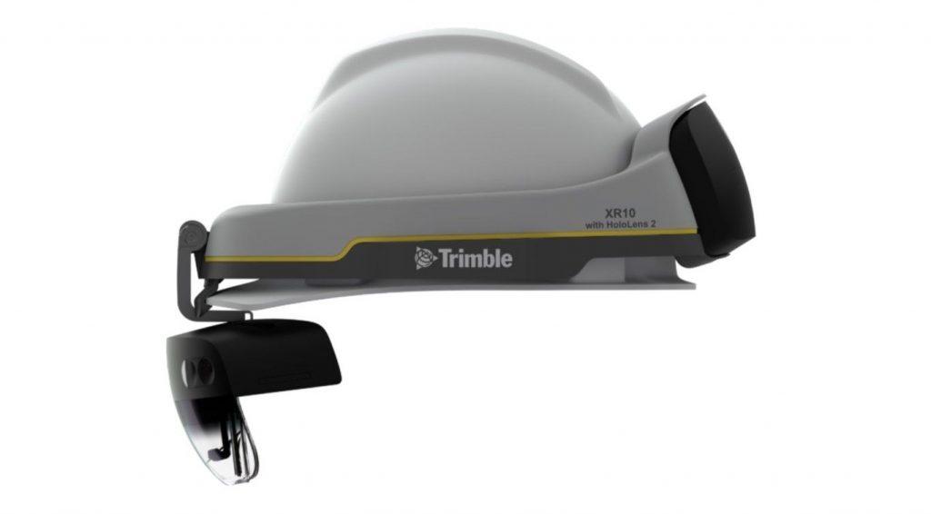 casco seguridad trimble xr10 hololens