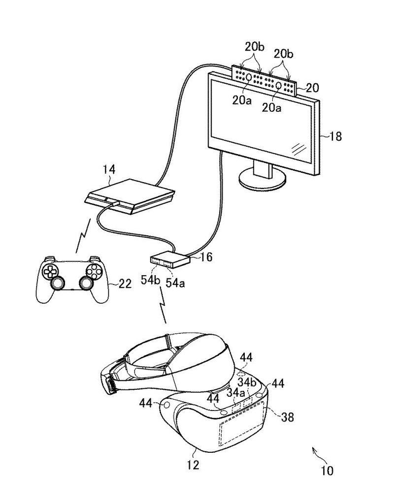 PS VR 2 patente