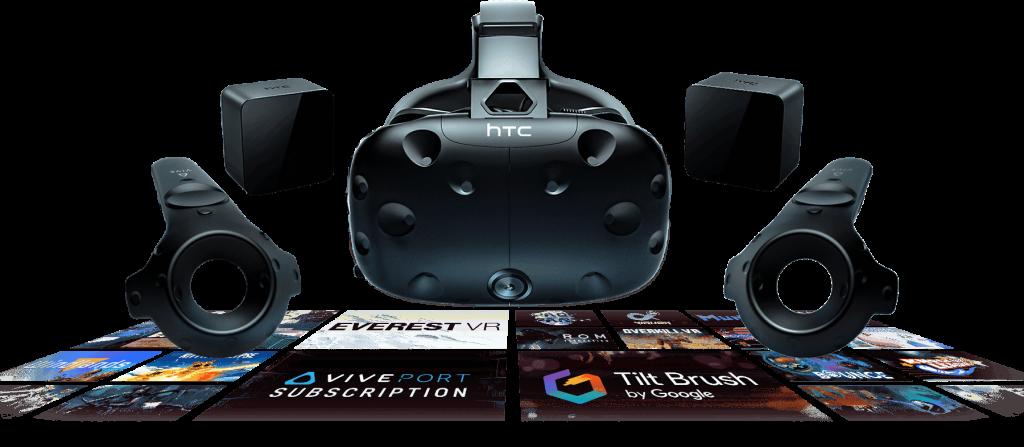 HTC VIVE mejores gafas de realidad virtual para PC