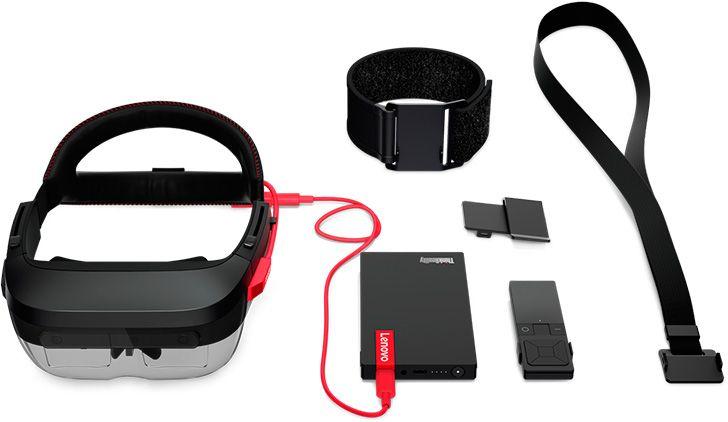 Gafas de realidad aumentada de Lenovo ThinkReality A6