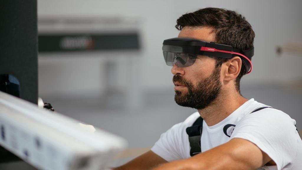 lenovo thinkreality a6 gafas de realidad aumentada