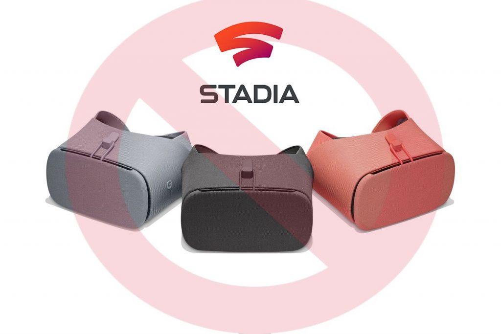 google stadia no sera compatible con la realidad virtual