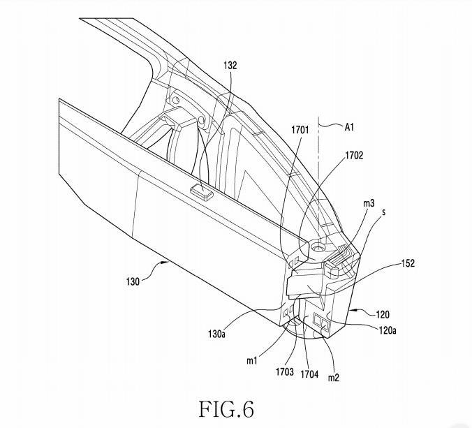 patente de gafas inteligentes de samsung