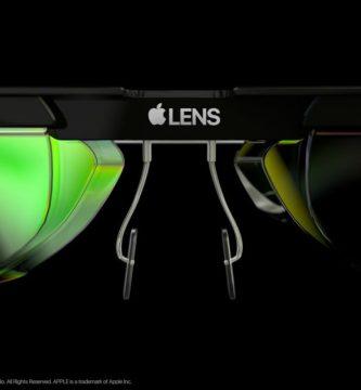 gafas inteligentes de apple lens concepto