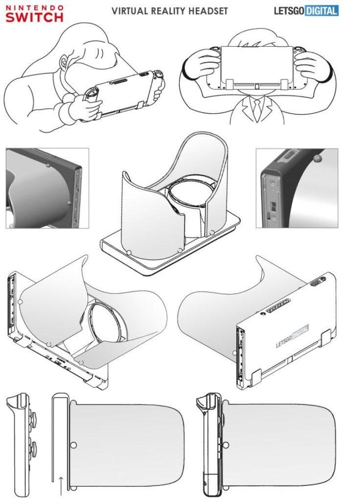 patente Nintendo gafas realidad virtual LABO VR