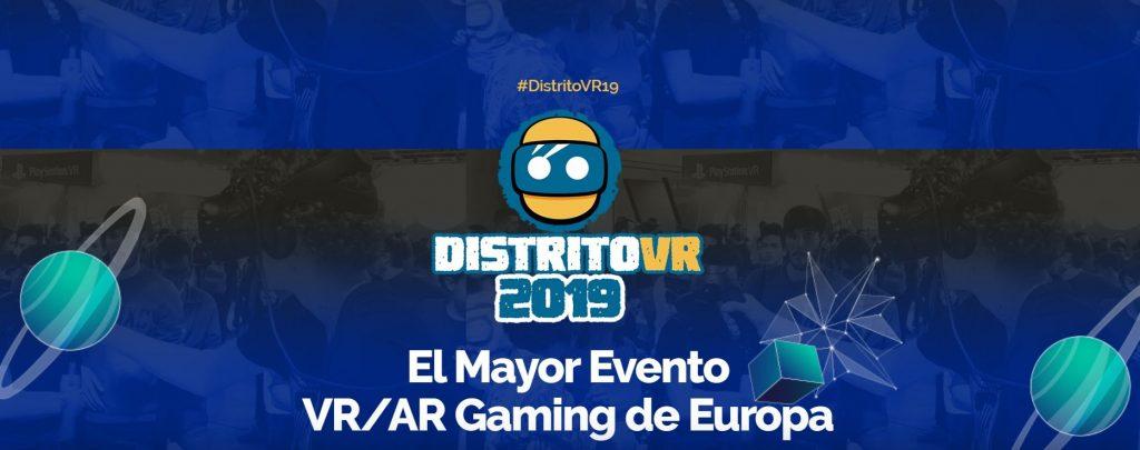 distrito vr 2019 Madrid Games Week