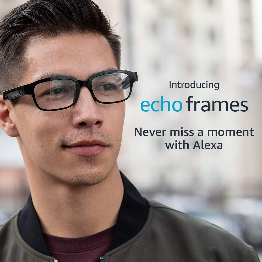 echo frames amazon gafas inteligentes