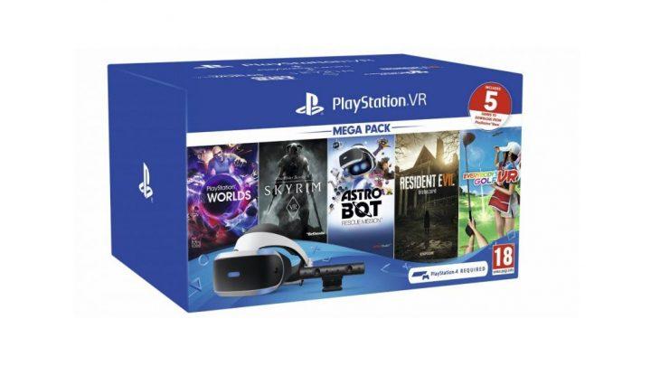 Este es el nuevo MegaPack de juegos para PSVR 2019