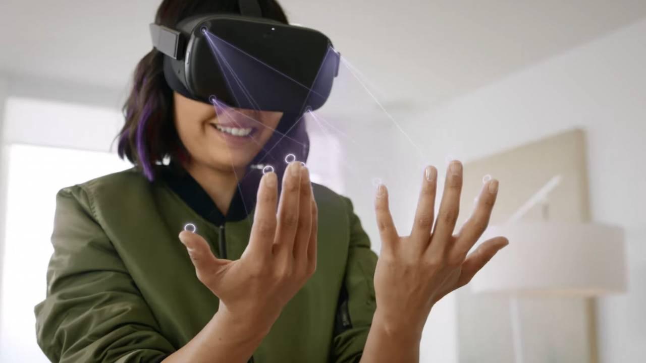 Seguimiento manos oculus quest