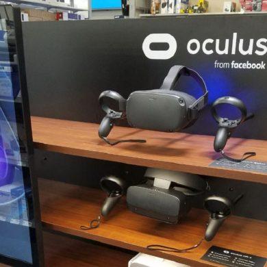 Stock Oculus Quest