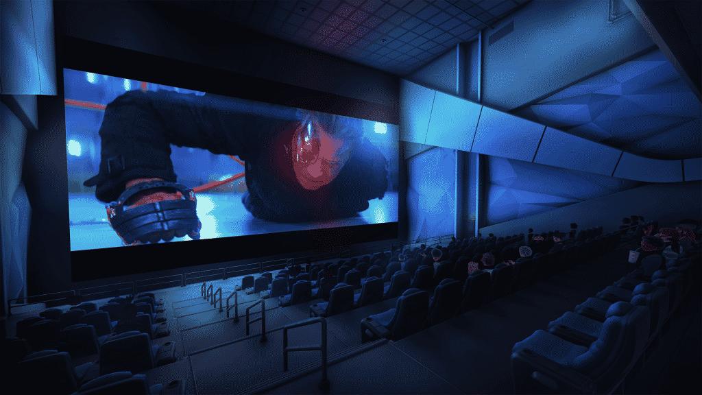 Bigscreen para ver películas en Oculus QUEST