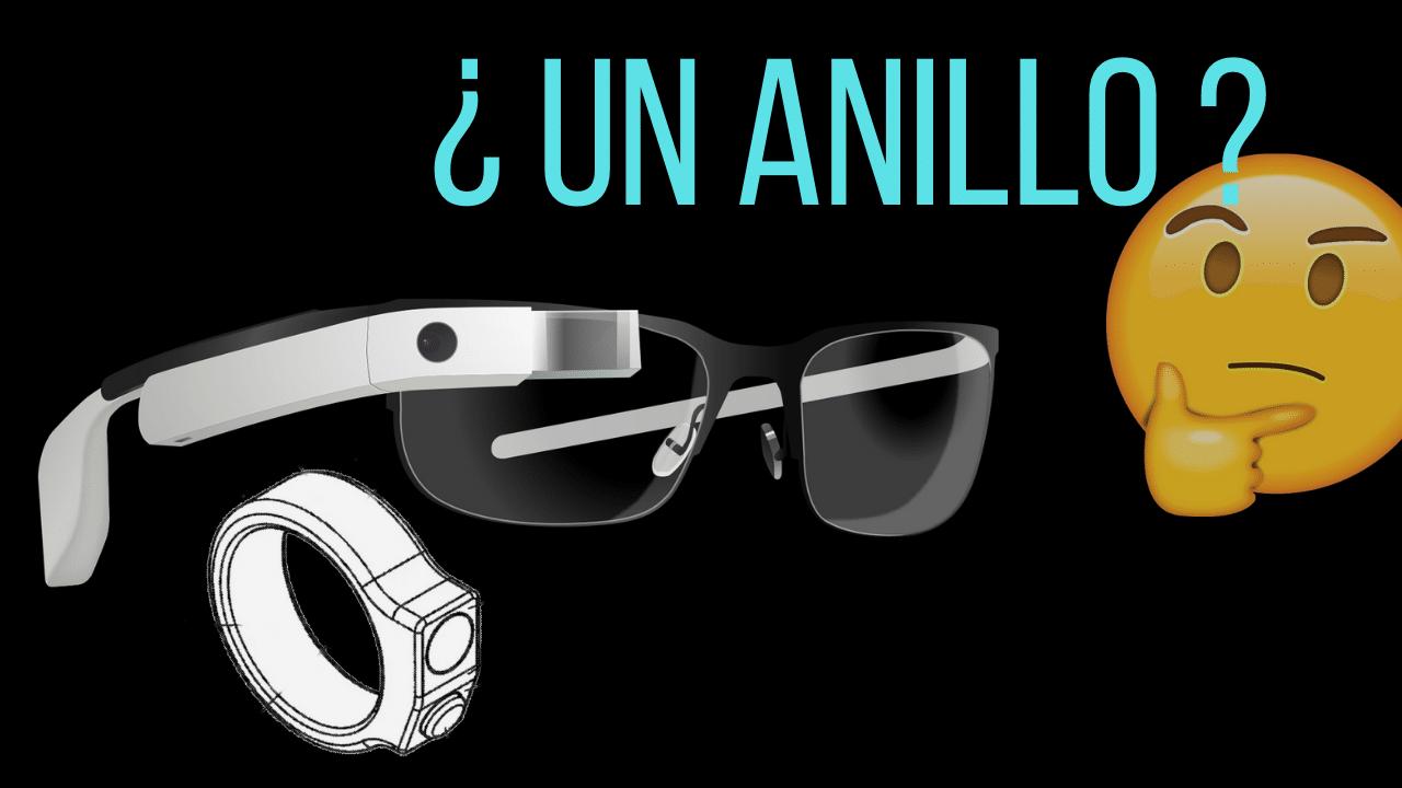 anillo inteligente para google glass con cámara