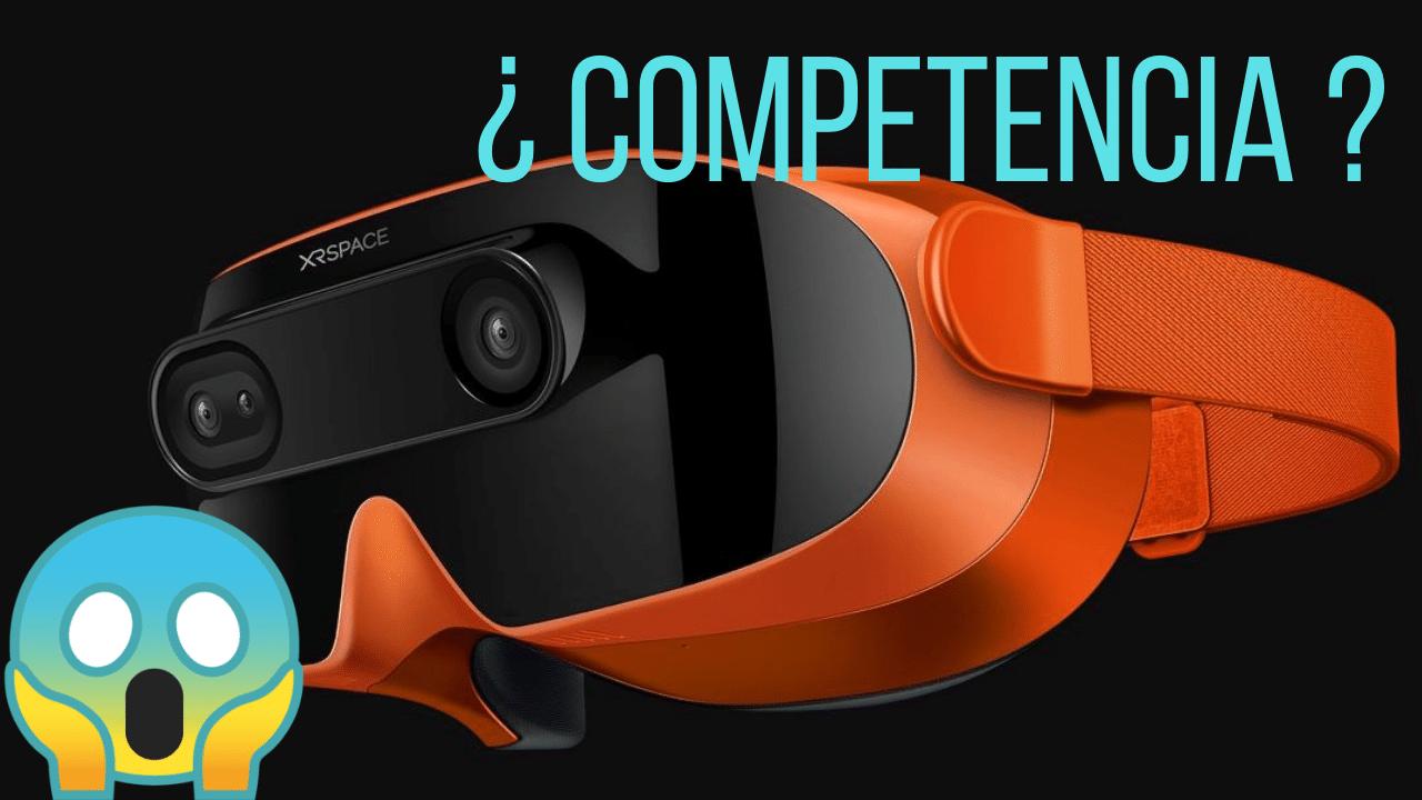 xrspace manova es un competidor de oculus quest