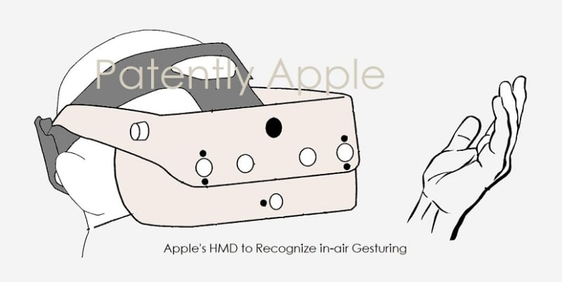 Patente gafas de realidad virtual Apple VR