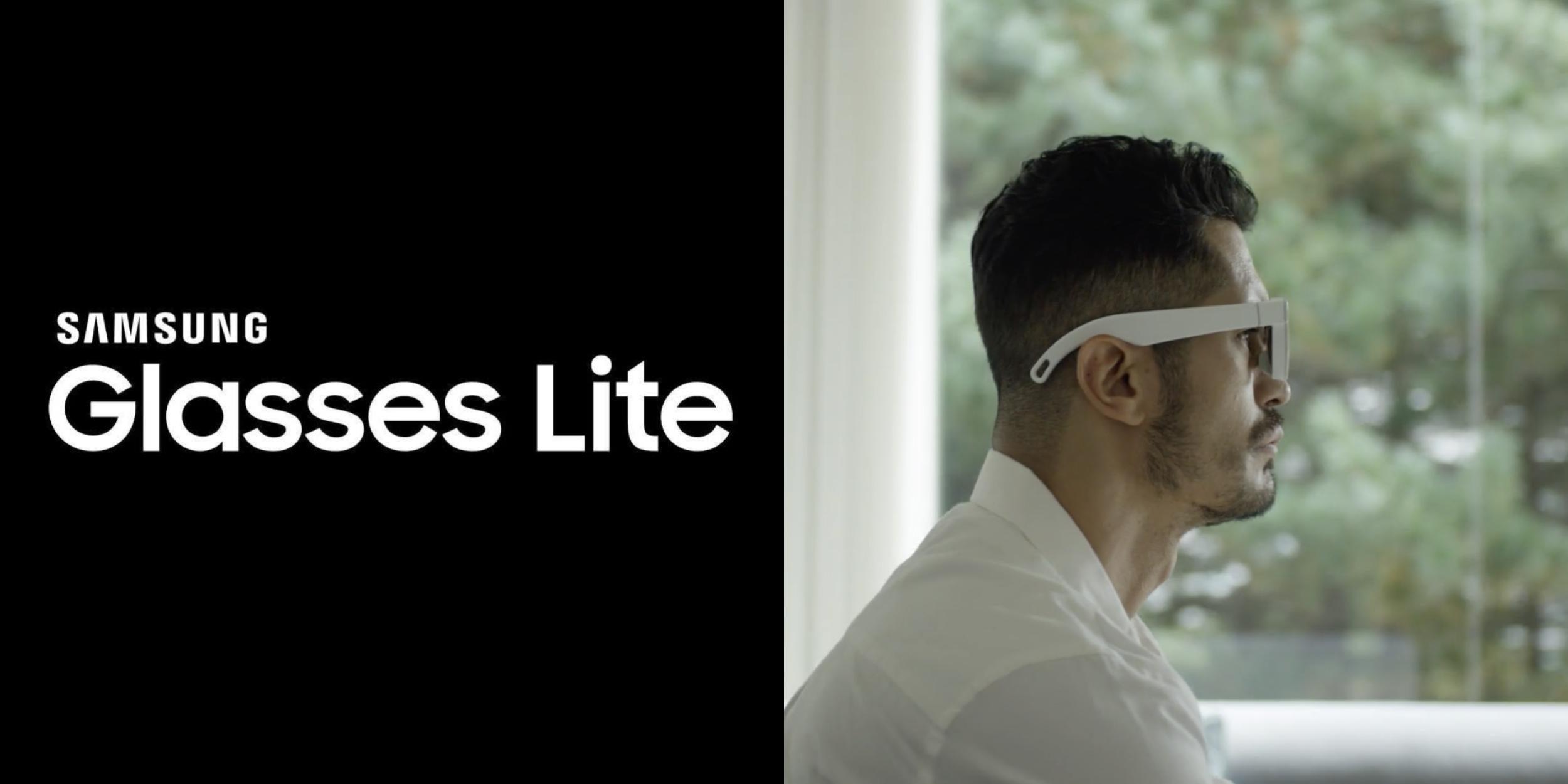 Samsung gafas inteligentes glasses lite