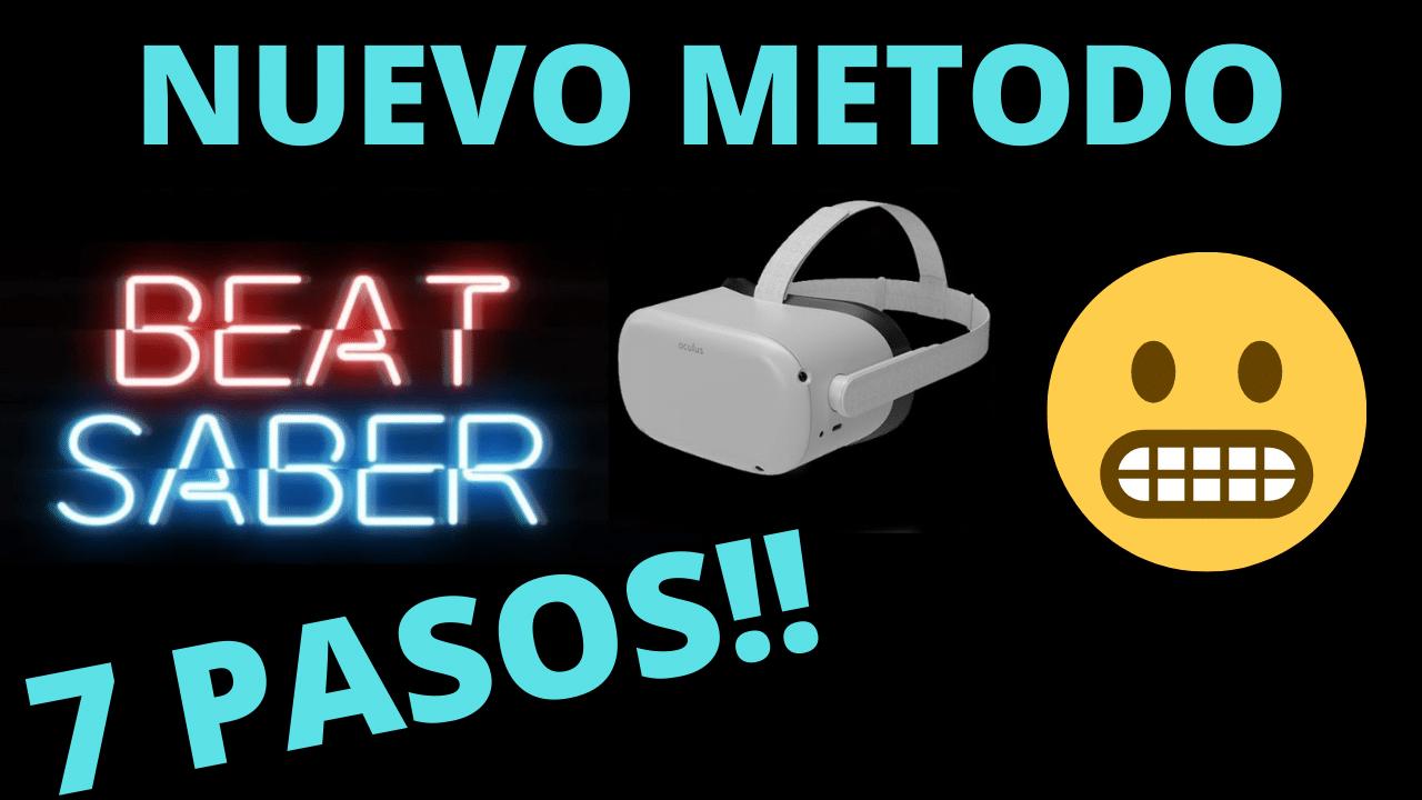 Instalar canciones en beat saber oculus quest 2