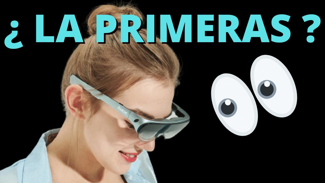 rokid air gafas inteligentes de realidad aumentada para el consumidor