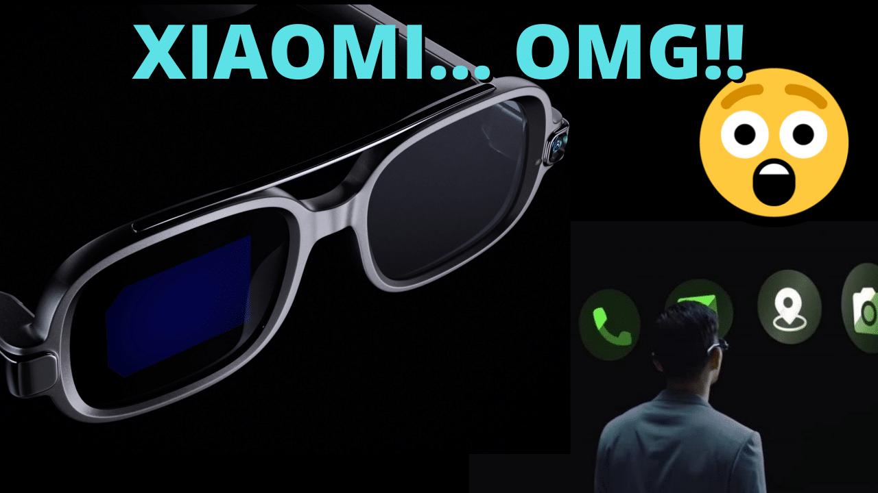 gafas inteligentes de xiaomi smart glasses