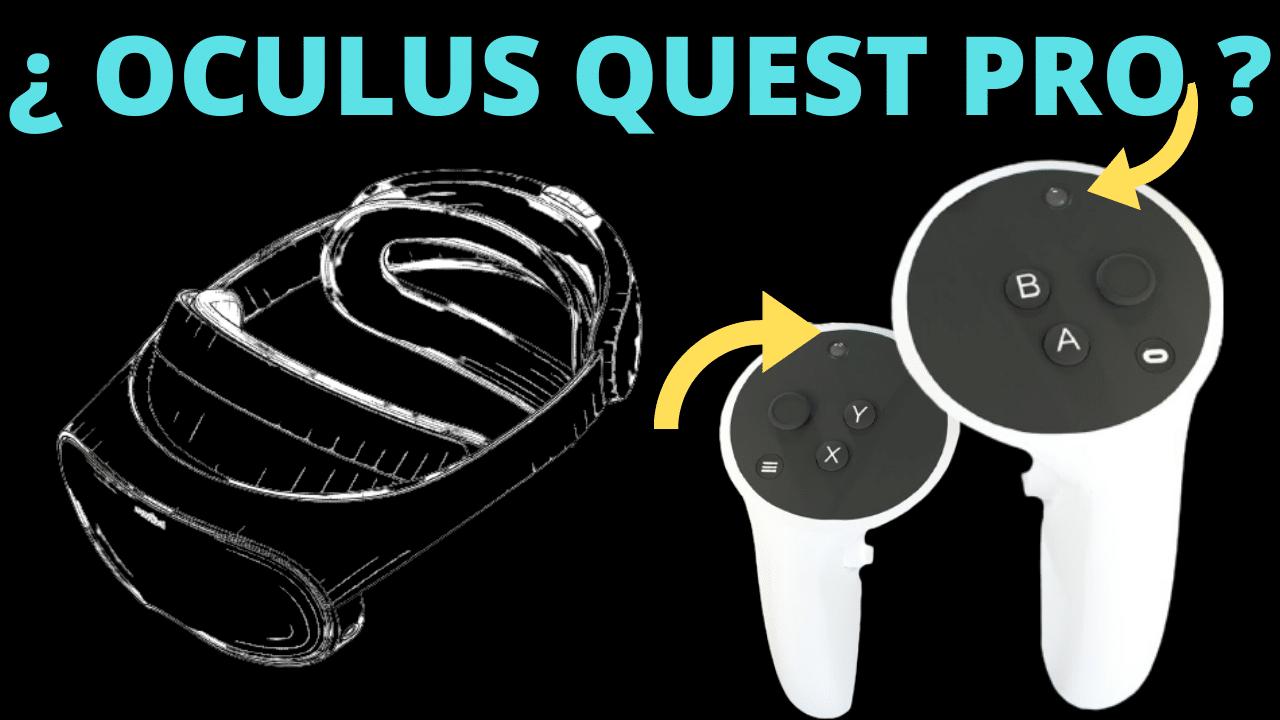 oculus quest pro rumores camaras mandos
